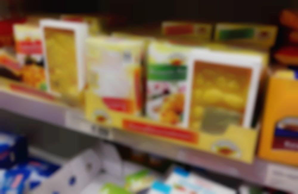 back in supermarket